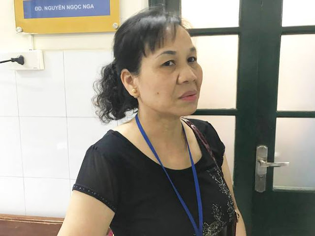 Bà Nguyễn Thị Dung mẹ anh Hùng