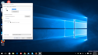 How to fix Microphone if it makes you sound like a Robot/Alien (Windows 10)-step 4