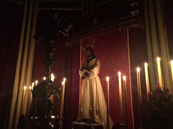Nuestro Padre Jesús Cautivo en la parroquia de San Pablo de Málaga