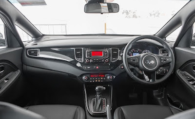 Interior Kia Carens Indonesia