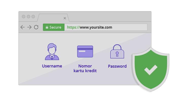 Situs dengan HTTPS/SSL