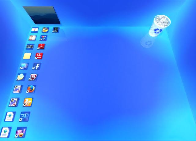 تحميل برنامج Real Desktop Pro لتغير سطح المكتب الى ثلأثى ألابعاد