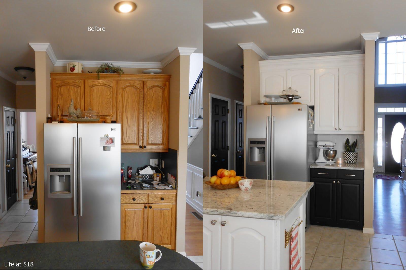 Life At 818 Kitchen Renovation Reveal