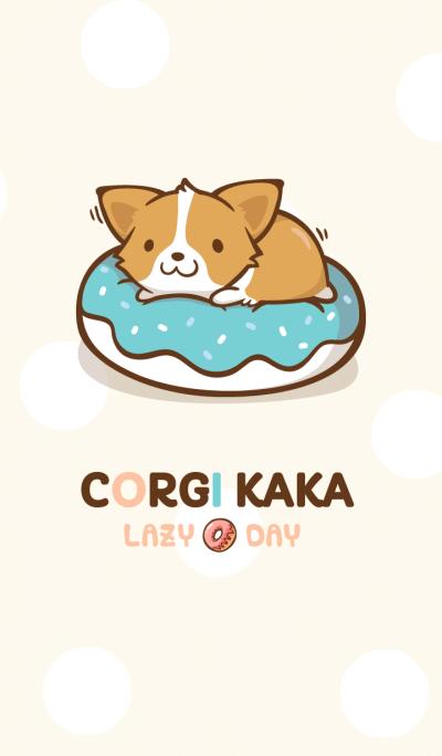 Corgi Dog Kaka - Lazy Pals