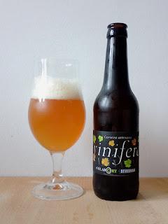 Sevebrau Vinifera Colabort GrapeBeer Sour La Tienda de la cerveza dorado y en botella