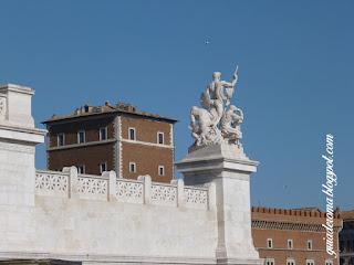 Altar da Pátria em Roma e Palácio Veneza