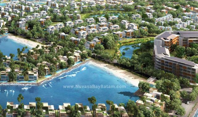 Nuvasa Bay Lagoon Villas Batam