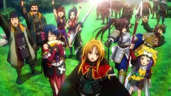 Oda Nobuna no Yabou - Anime sejarah yang berakhir bahagia