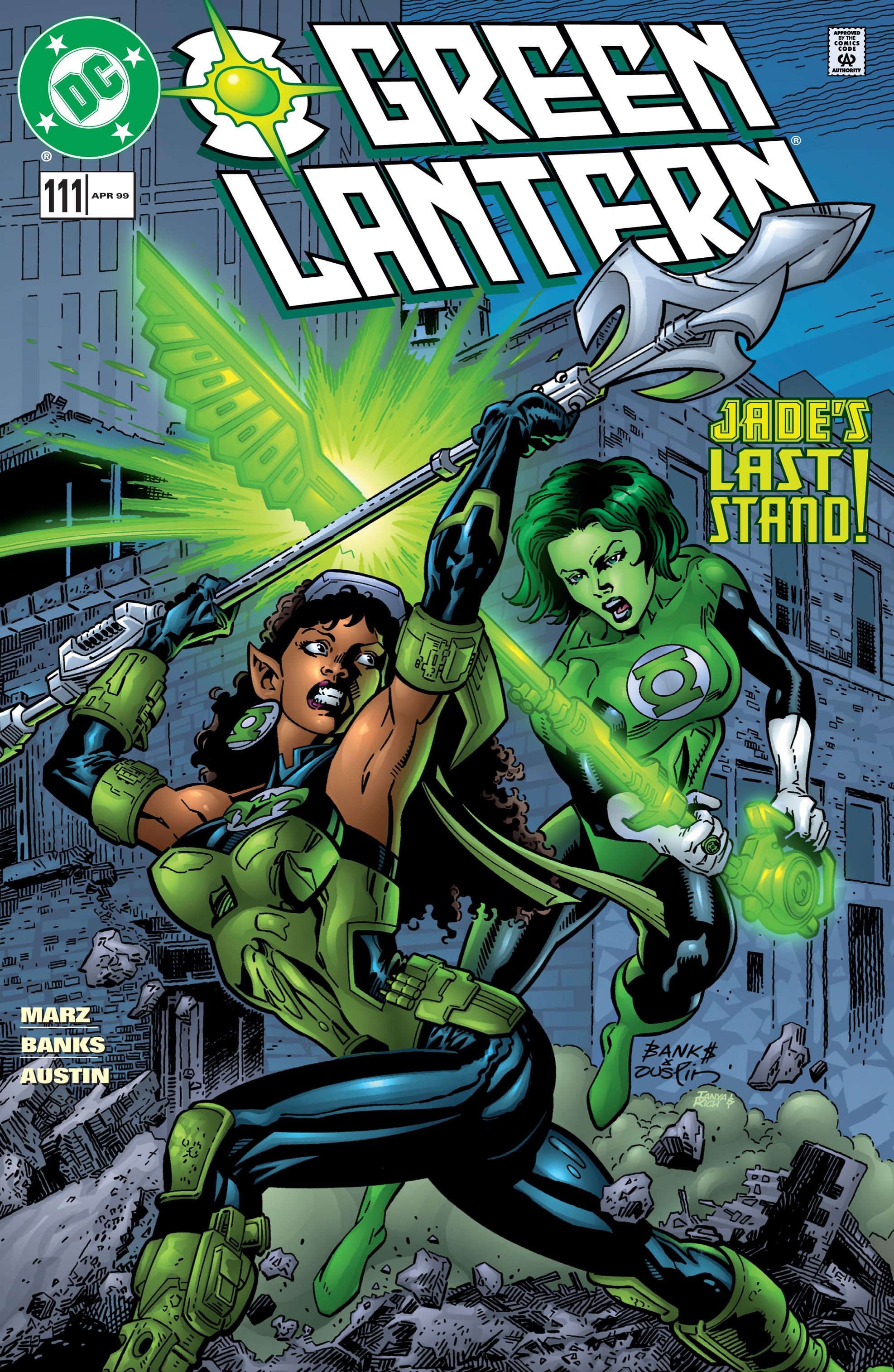 Green Lantern (1990) 111 Page 1
