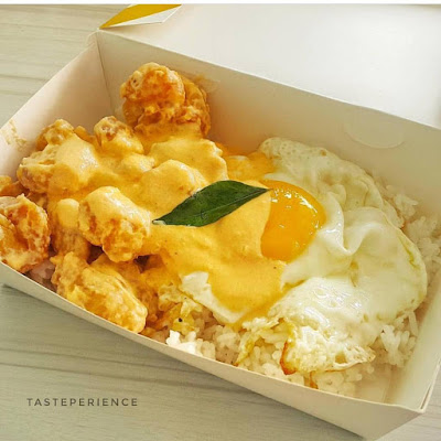salted egg chicken
