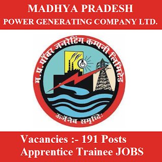 Madhya Pradesh Power Generating Co. Ltd., MPPGCL, MP, Madhya Pradesh, ITI, 10th, Apprentice, Trainee, freejobalert, Sarkari Naukri, Latest Jobs, mppgcl logo