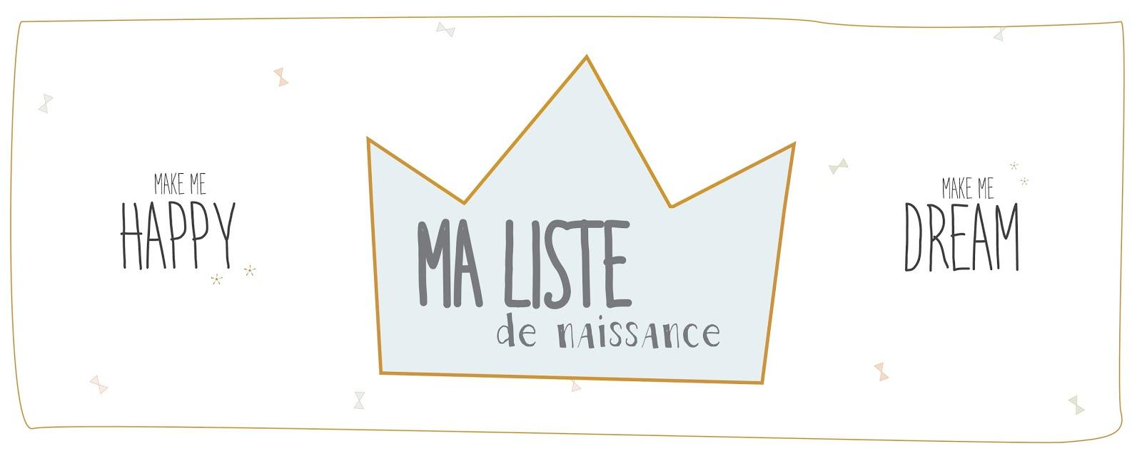 Make Me Happy La Liste De Naissance De Bonheur Et Déco