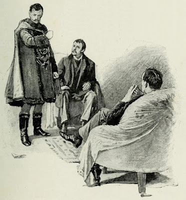 a scandal in bohemia by arthur conan doyle illustration