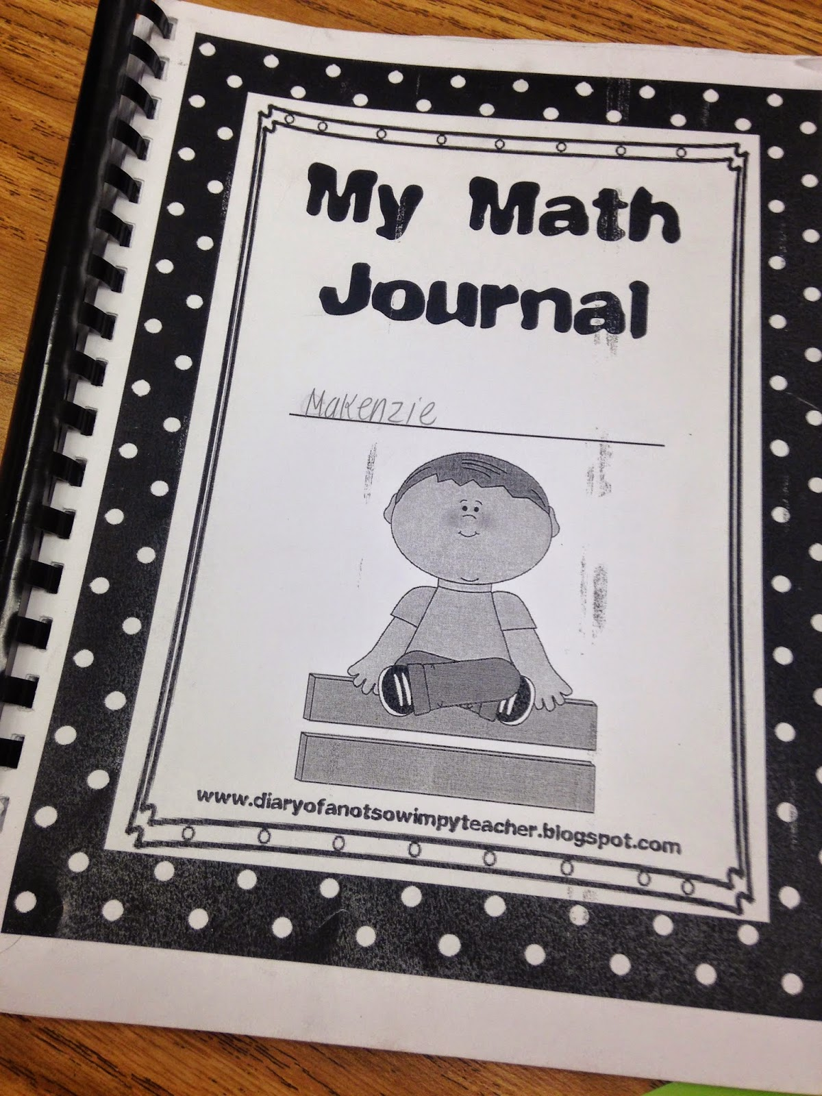 Diary Of A Not So Wimpy Teacher Math Journals Making