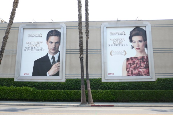 Crown 2018 Emmy nominee billboards