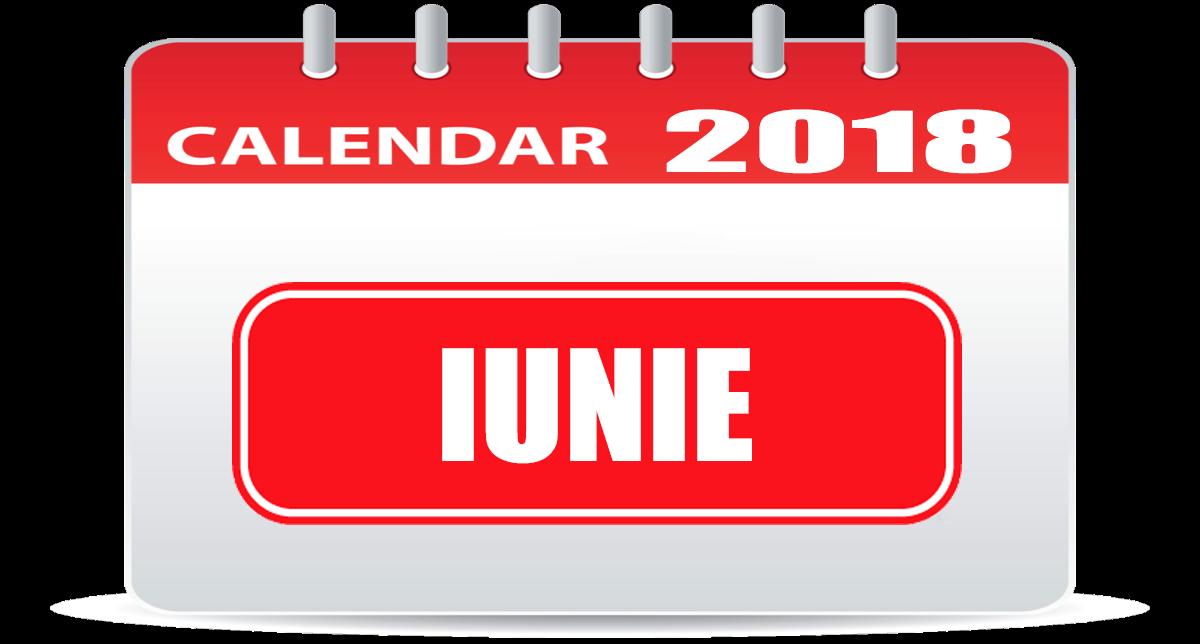 calendar iunie 2018 calendar 2018 romania