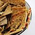 Cracker de Linhaça Dourada Germinada Desidratado!