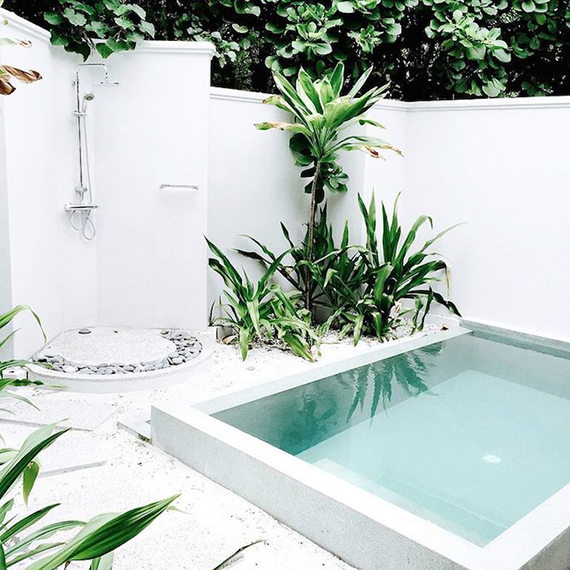10 backyard pools to steal your heart | Image via Happily Grey