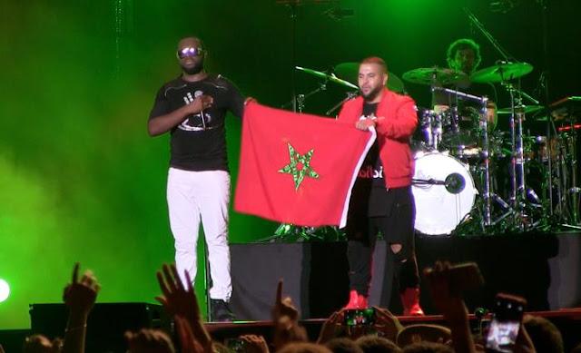 Maître Gims cri son amour pour le Maroc et Mohamed VI.