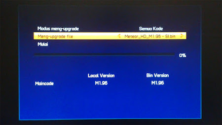 Cara Upgrade Receiver Venus Meteor HD