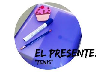 """EL PRESENTE DE INDICATIVO. Formas regulares e irregulares. """"Tenis"""". Ejercicio A2"""