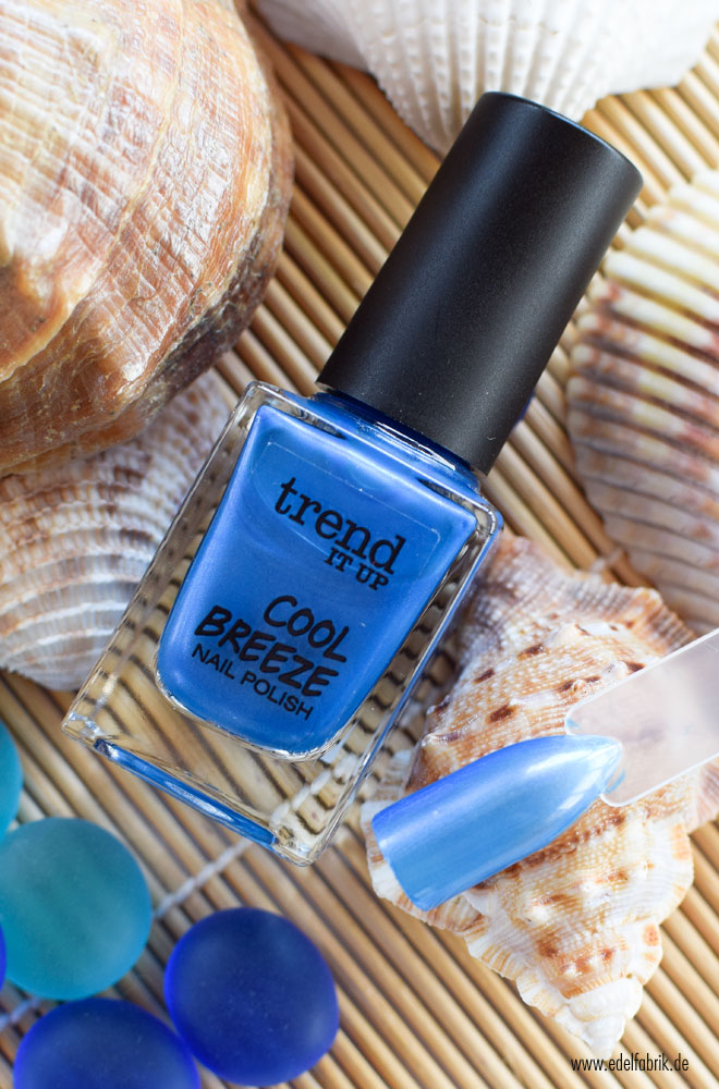 trend IT UP Cooll Breeze, Nagellack, 010, Swatch