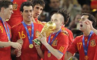 5 Gelandang Terbaik Yang Dimiliki Timnas Spanyol (Versi Ane)