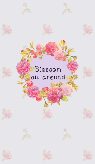 blossom all around
