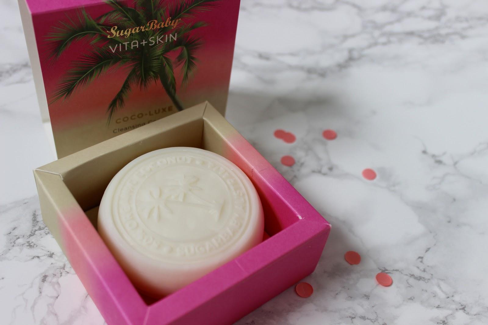 sugar baby, Coco-Luxe- Cleansing Coconut Beauty Bar, Hair Affair- Hydrating Coconut Hair Treatment, Sugar Crush- Coconut & Raw Sugar Exfoliating Body Scrub