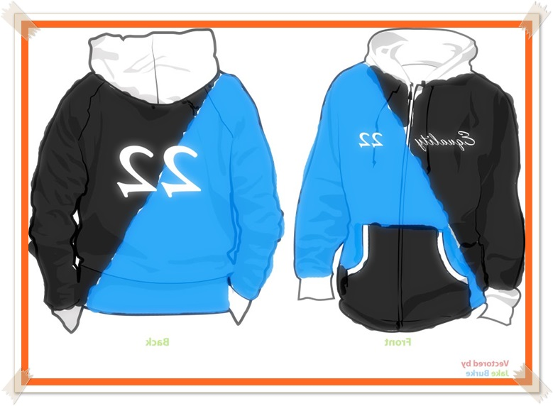 gambar desain jaket kelas unik yg menarik