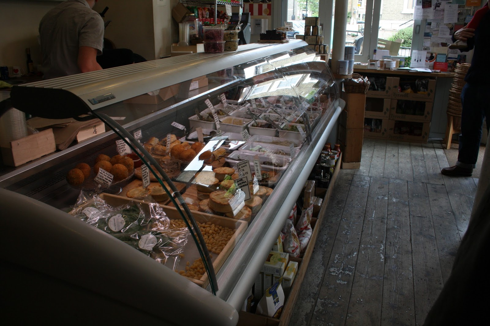 Becoming a Londoner: The Deli Downstairs