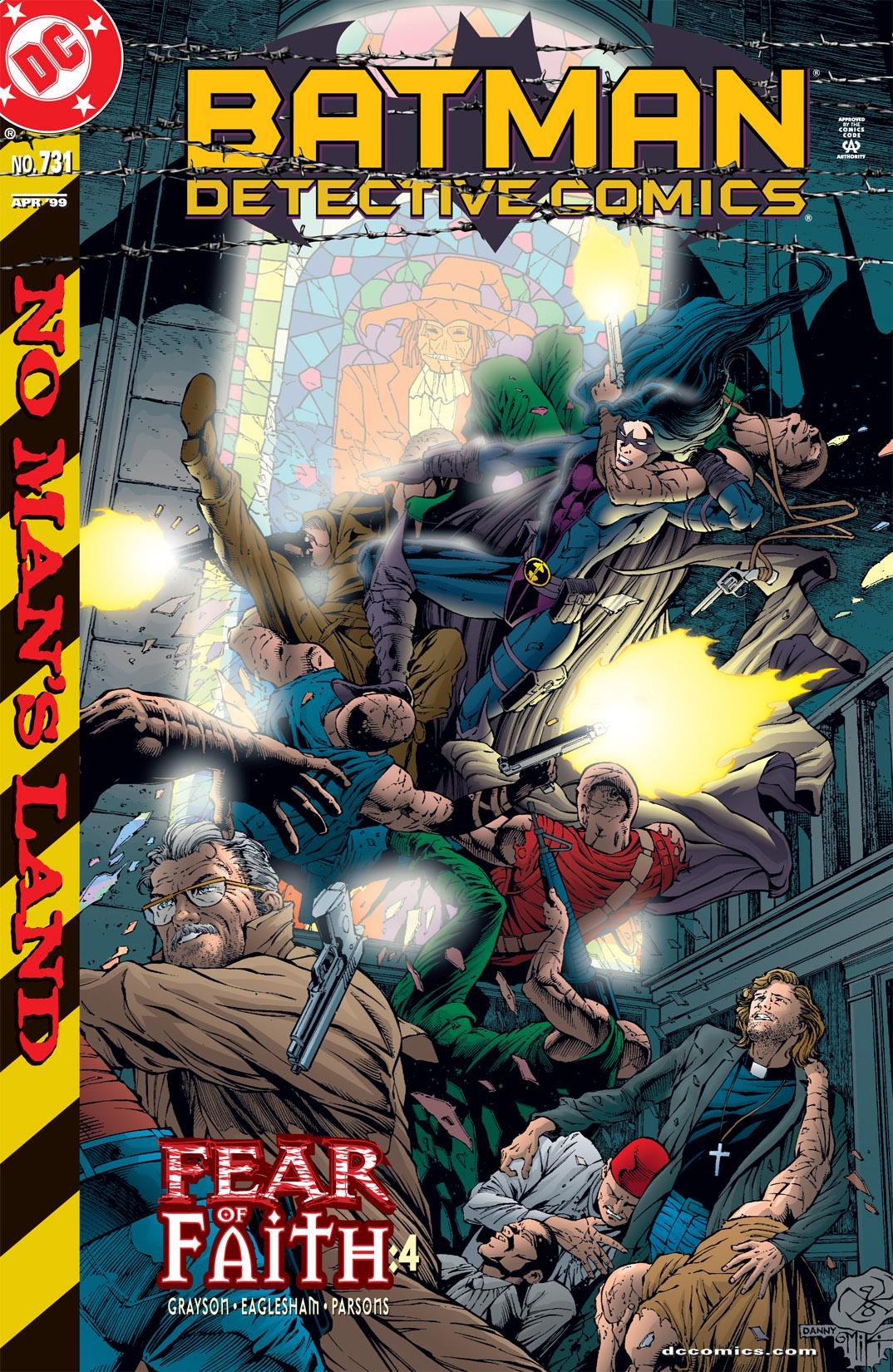 Detective Comics (1937) 731 Page 1