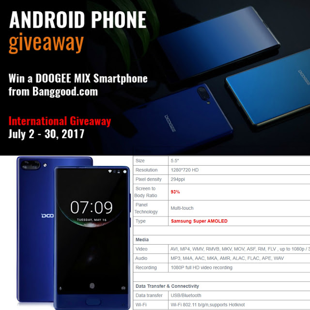 smartphone giveaway, international competition, free smartphone contest, win a smartphone, free tech gadgets, how to score free tech