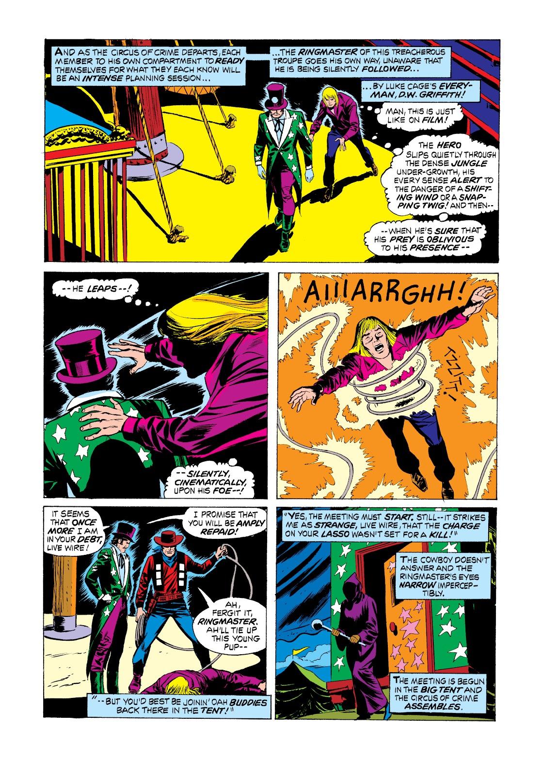 Read online Marvel Masterworks: Luke Cage, Power Man comic -  Issue # TPB 2 (Part 2) - 69