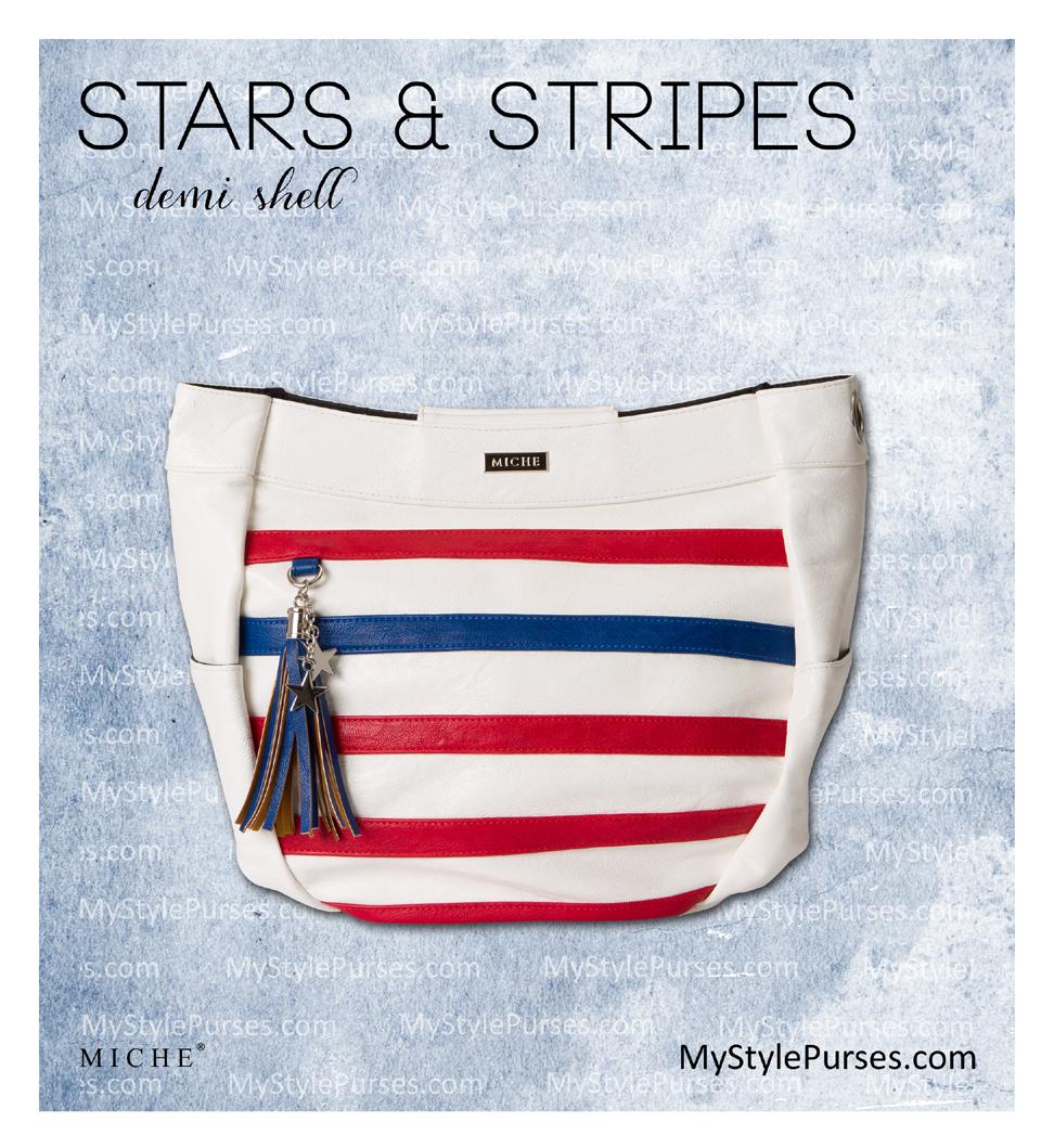 Miche Stars and Stripes Demi Shell   Shop MyStylePurses.com