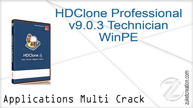 HDClone Professional Edition v9.0.3 Technician WinPE
