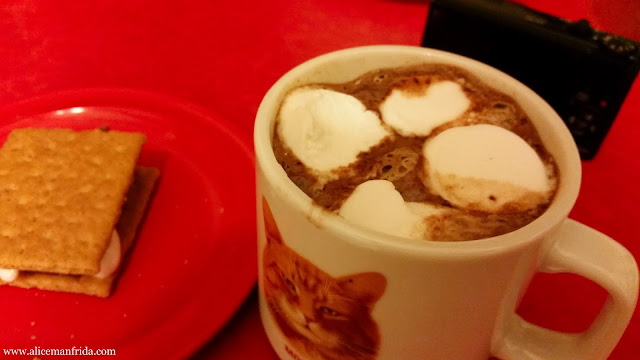 hot chocolate, marshmallow, s'mores, dessert, chocolate, treats, sweets, sugar
