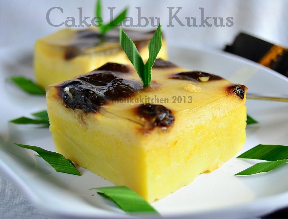 Resep Cake Kukus Pakai Santan: Molika Kitchen: Cake Labu Kukus