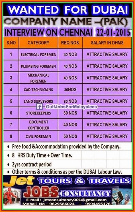 Jobs In UAE - 22 Jan 2015   Middle East Jobs