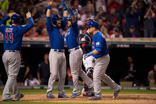 Cubs Crush Indians to Set Up Monumental Game 7
