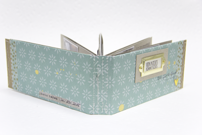 genähtes Minibook