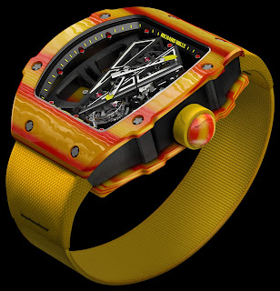 Montre de Rafael Nadal Richard Mille RM 27-03 Tourbillon