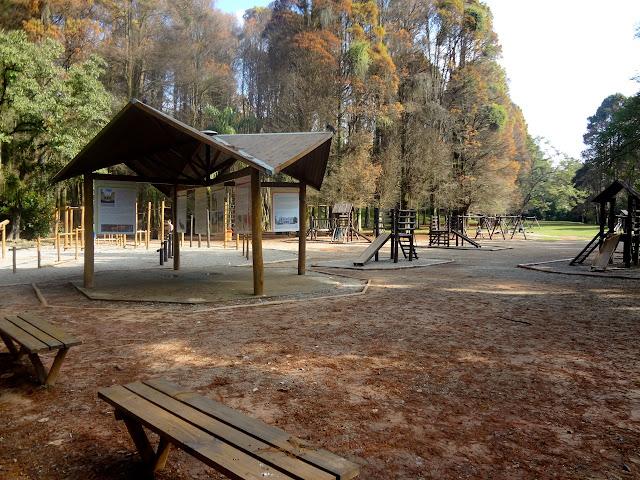 Playground  do Horto Florestal de São Paulo