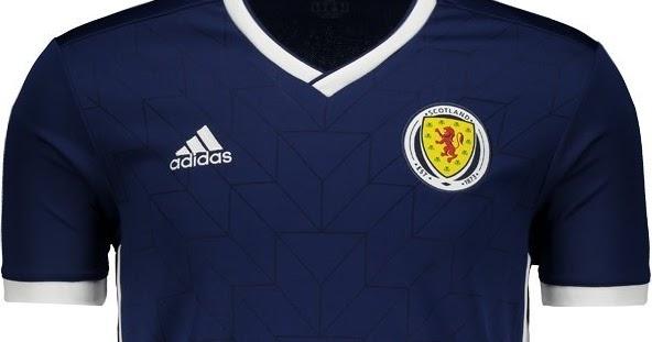 Adidas lança a nova camisa titular da Escócia - Show de Camisas 9e52ae7ebb5f6