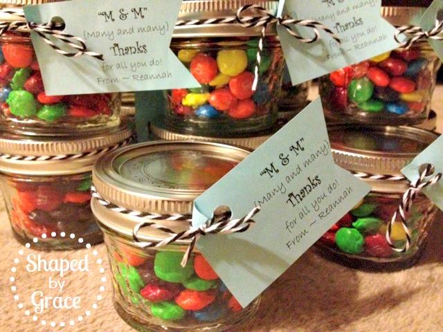 Shaped By Grace Teacher Appreciation Gift Ideas
