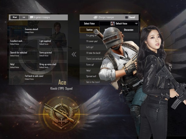 cara setting voice quick chat pubg mobile
