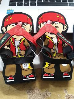 Sandal Sancu Bboy, sandal sancu, sandal lucu