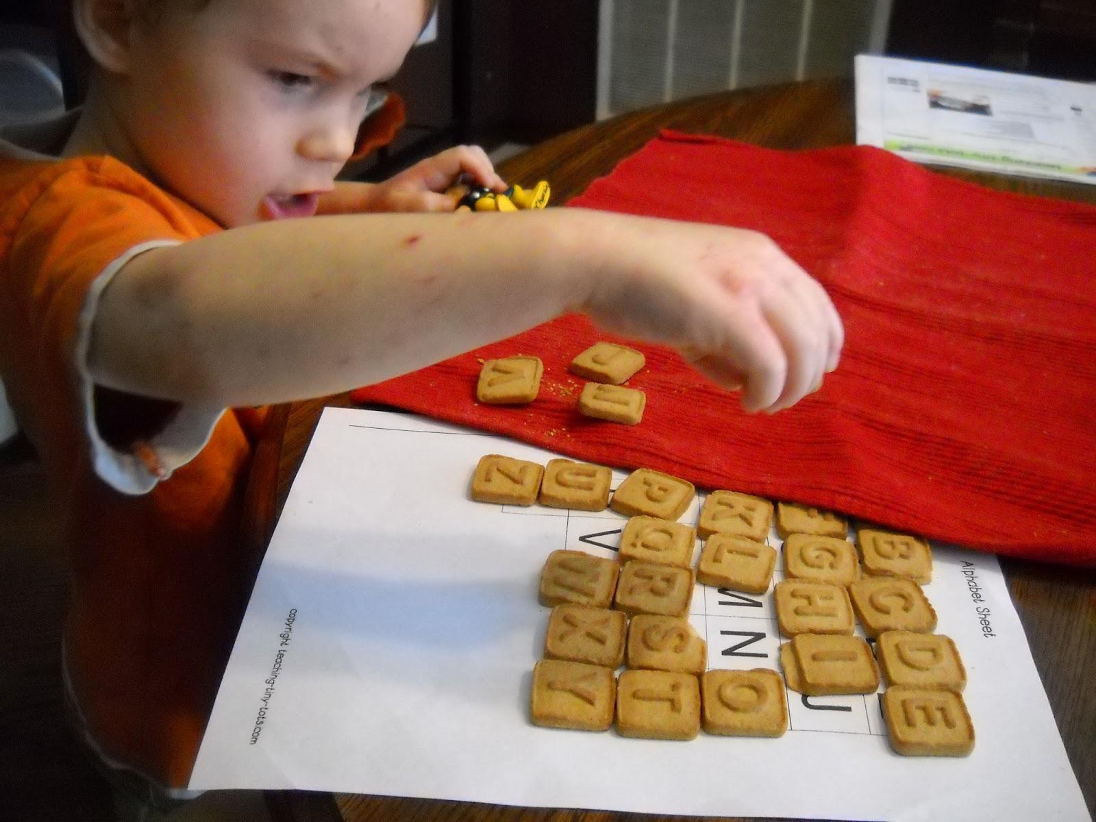 Allison S Wonderland Alphabet Letter Recognition Toddler Preschool Activity W Free Printable