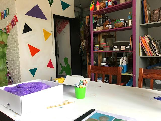 """Индивидуальный мастер-класс по масляной живописи в творческой студии """"Art Game"""" Pokupon"""