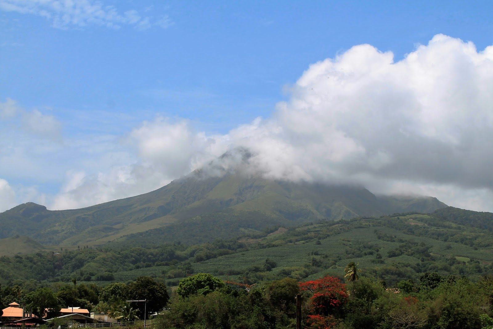 martinique caraibes vacances île dom tom visite montagne pelée saint pierre volcan